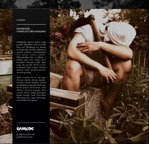 [PRE ORDER] HOMICIDE -COMPLETE DISCOGRAPHY- 2XCD + POSTER