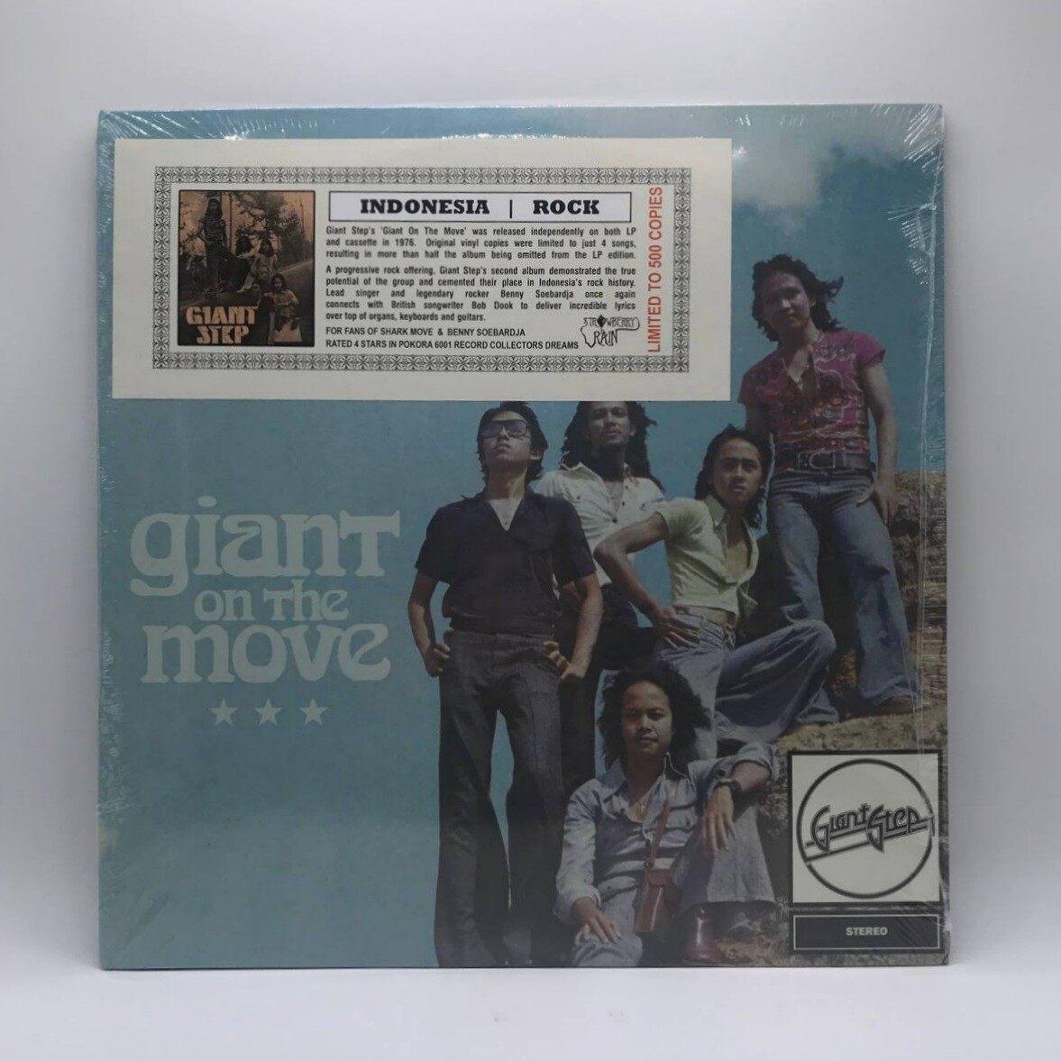 GIANT STEP -GIANT ON THE MOVE- LP