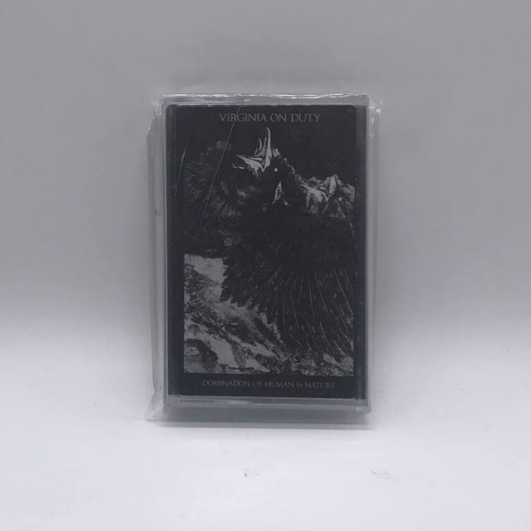 [USED] VIRGINIA ON DUTY -DOMINATION OF HUMAN AND NATURE- CASSETTE