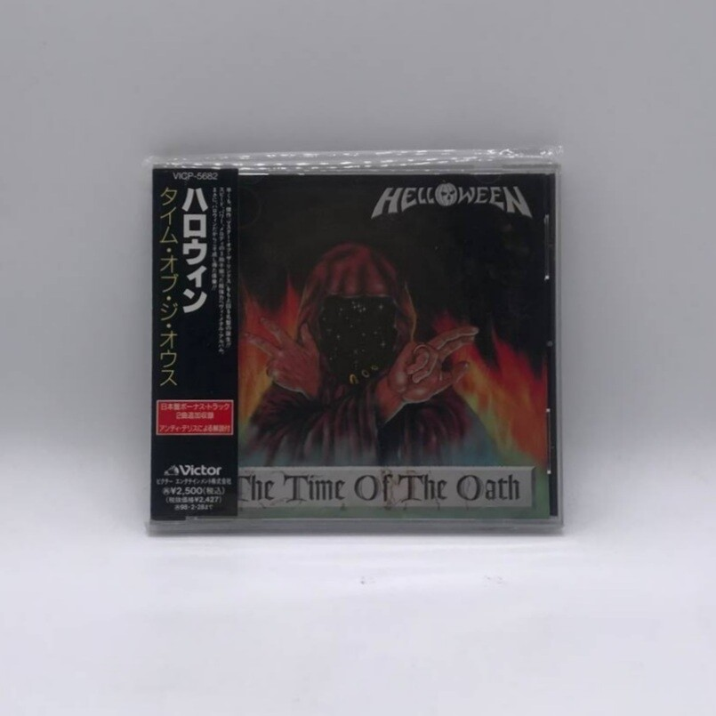 [USED] HELLOWEEN -TIME OF OATH- CD (JAPAN PRESS)