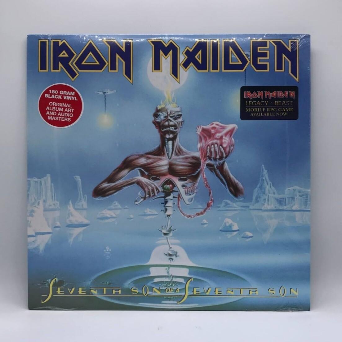 IRON MAIDEN -SEVENTH SON OF A SEVENTH SON- LP