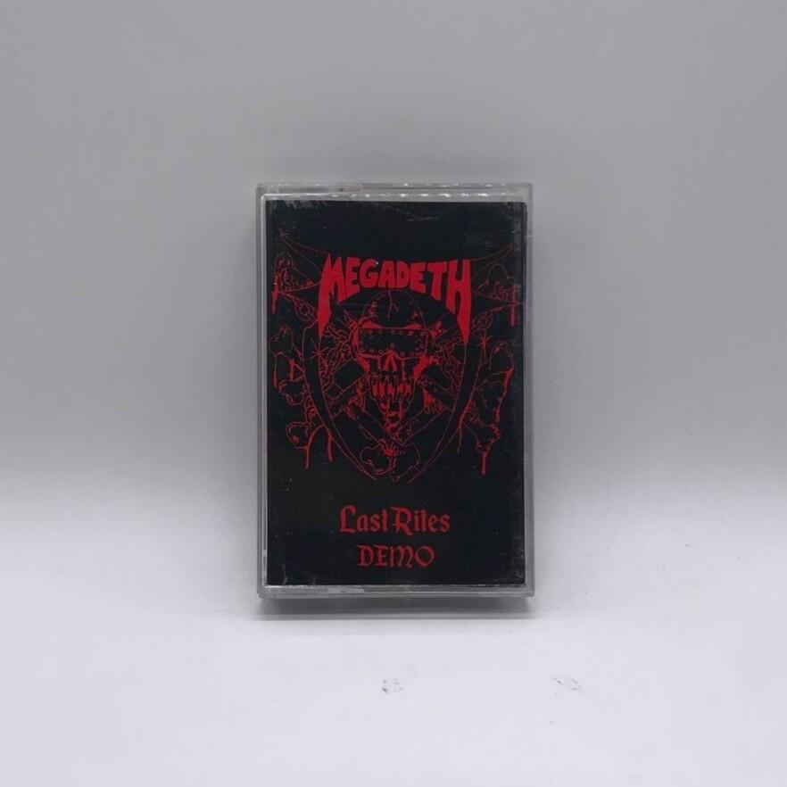 [USED] MEGADETH -LAST RITES- CASSETTE