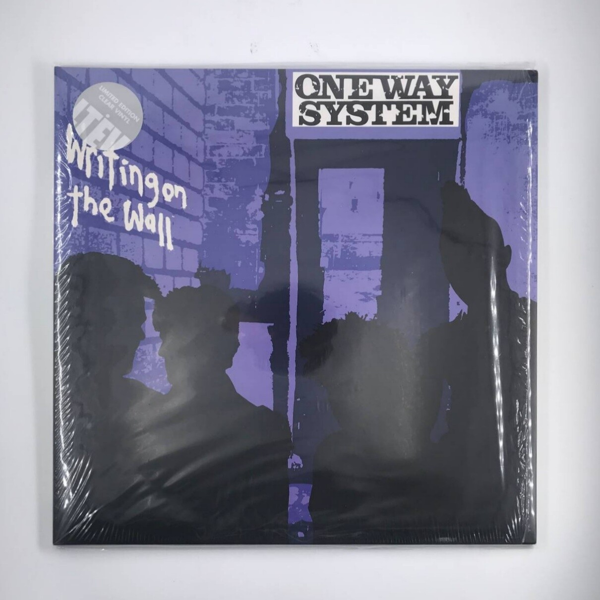 [USED] ONE WAY SYSTEM -WRITING ON THE WALL- LP (CLEAR VINYL)