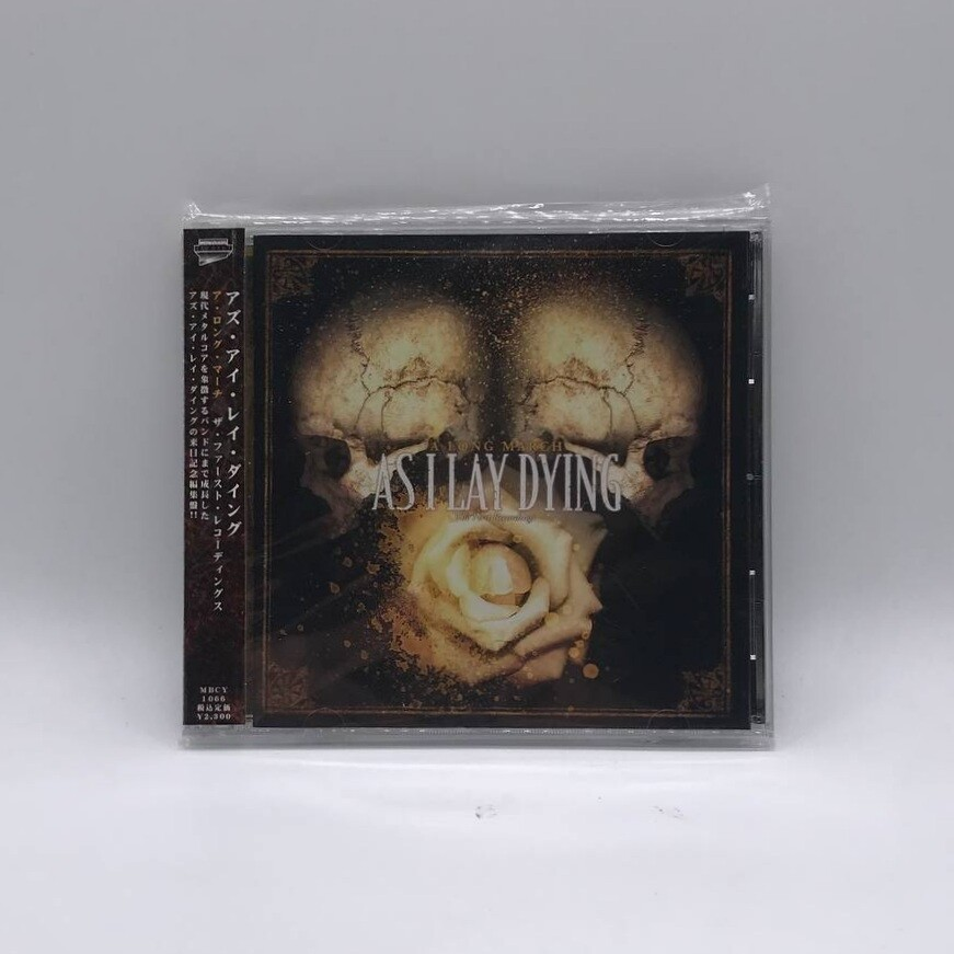 [USED] AS I LAY DYING -A LONG MARCH: THE FIRST RECORDINGS- CD (JAPAN PRESS)