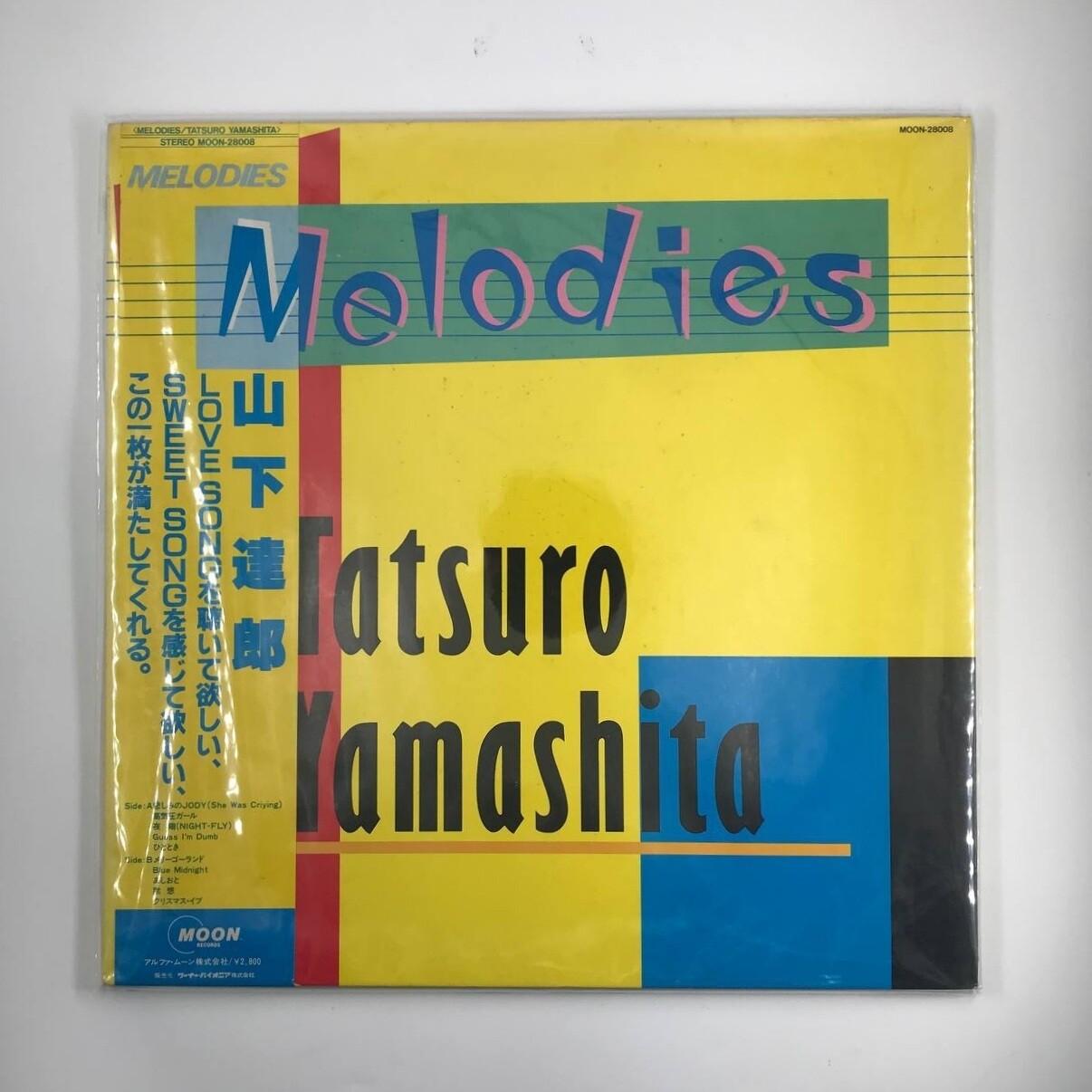 [USED] TATSURO YAMASHITA -MELODIES- LP
