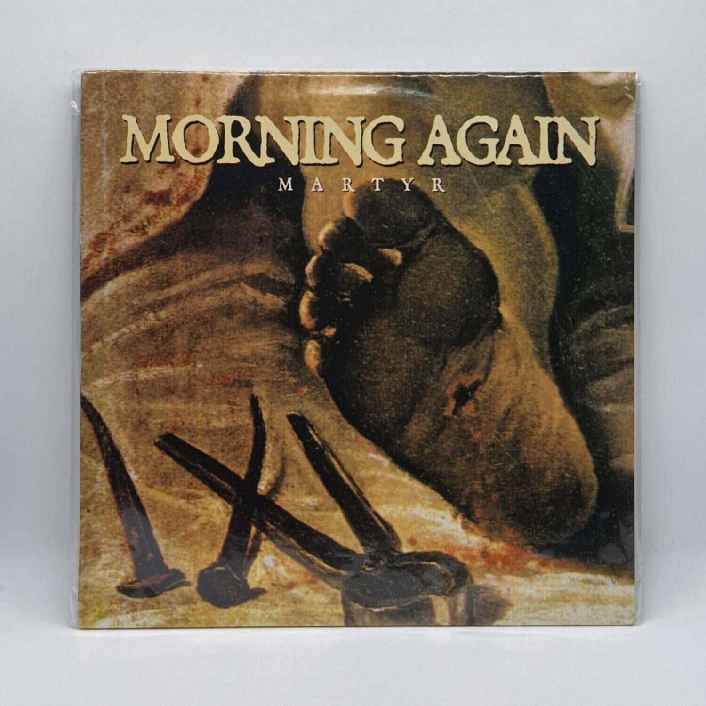 MORNING AGAIN -MARTYR- LP (GREEN VINYL)