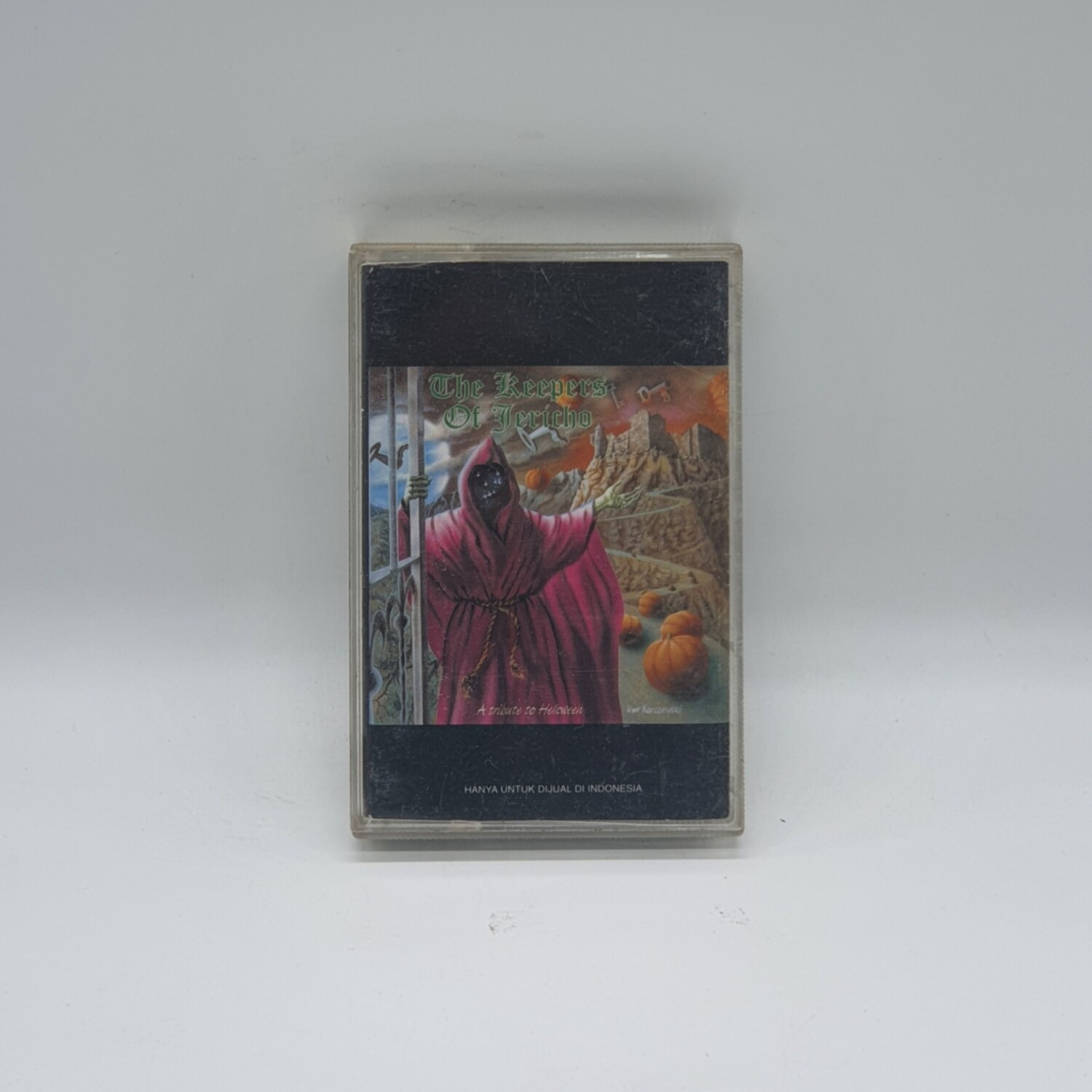 [USED] V/A -THE KEEPERS OF JERICHO: A TRIBUTE TO HELLOWEEN- CASSETTE