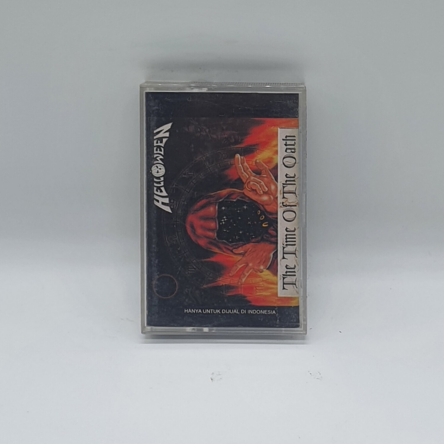 [USED] HELLOWEEN -THE TIME OF THE OATH- CASSETTE