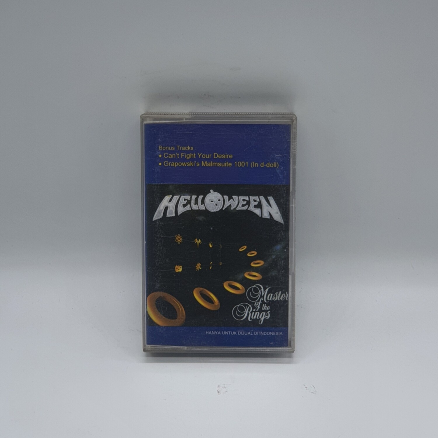 [USED] HELLOWEEN -MASTER OF THE RINGS- CASSETTE