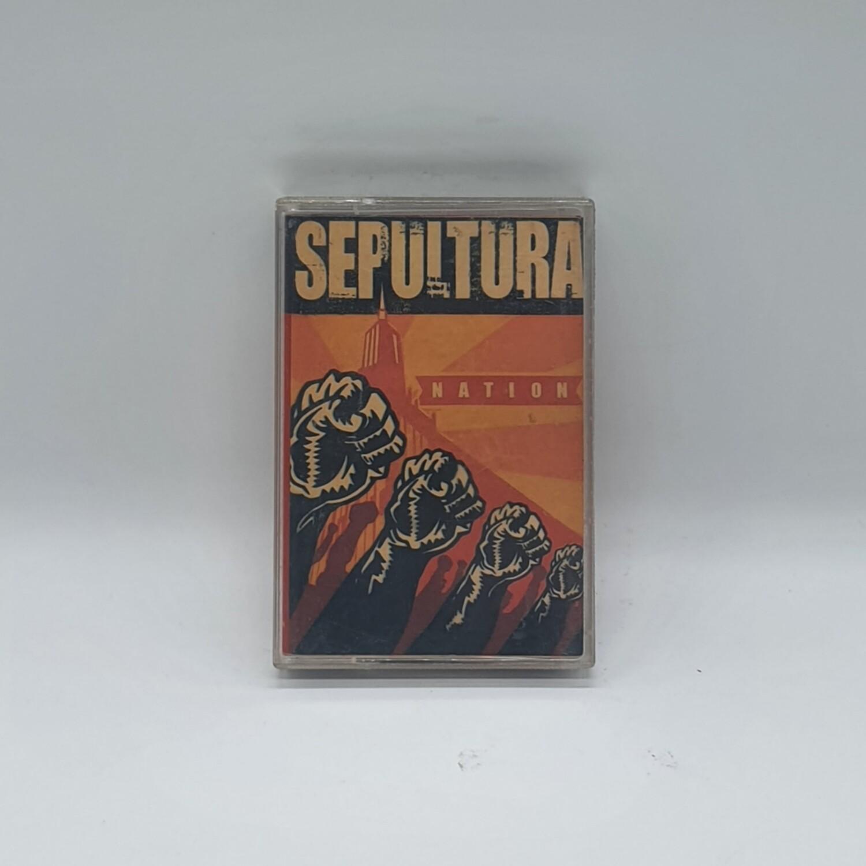 [USED] SEPULTURA -NATION- CASSETTE