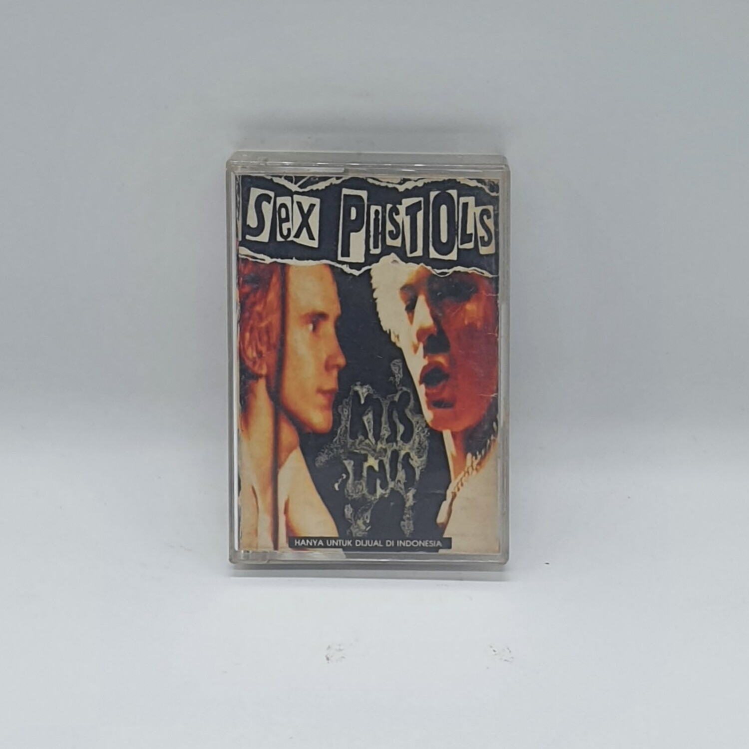 [USED] SEX PISTOLS -KISS THIS- CASSETTE