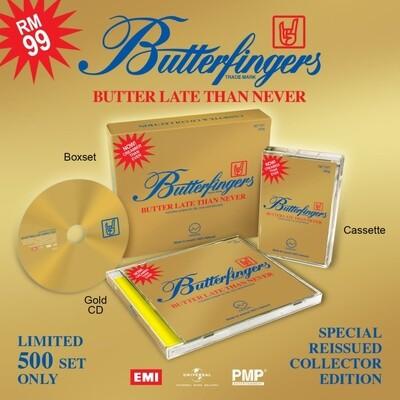 [PRE ORDER] BUTTERFINGERS -BUTTER LATE THAN NEVER- CD + CASSETTE (BOXSET)