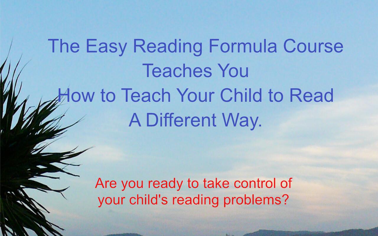 Easy Reading Formula Course