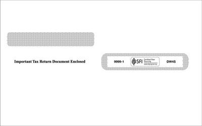 W2 Envelope #9999-1 (Set of 100)