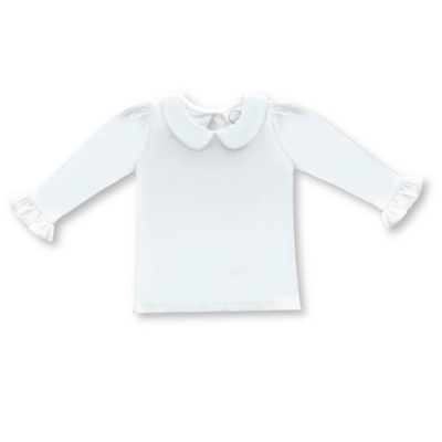 Peter Pan Collar Long Sleeve shirt