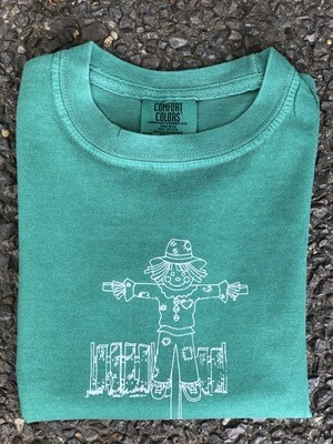 Scarecrow Sketch Green Tee