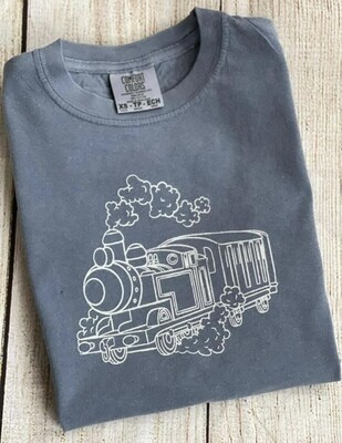 Train on 'Blue Jean' Sketch tee