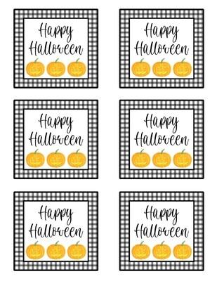 Happy Halloween Enclosure Cards
