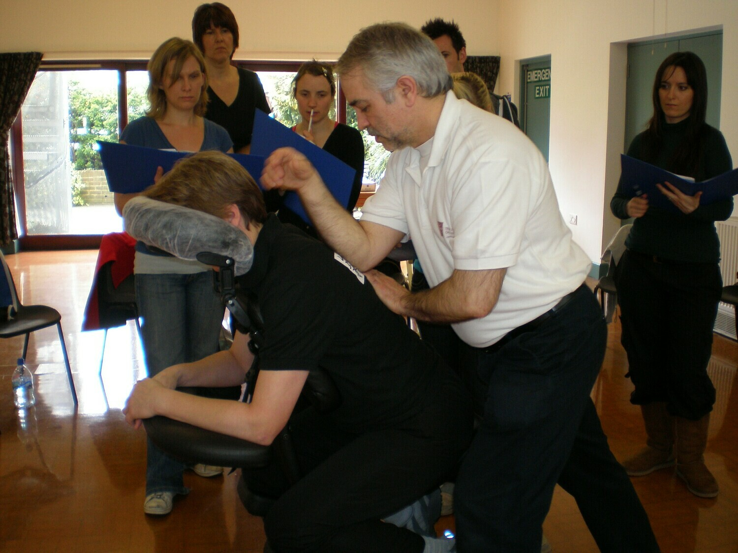 Seated Acupressure (On Site) Massage Diploma