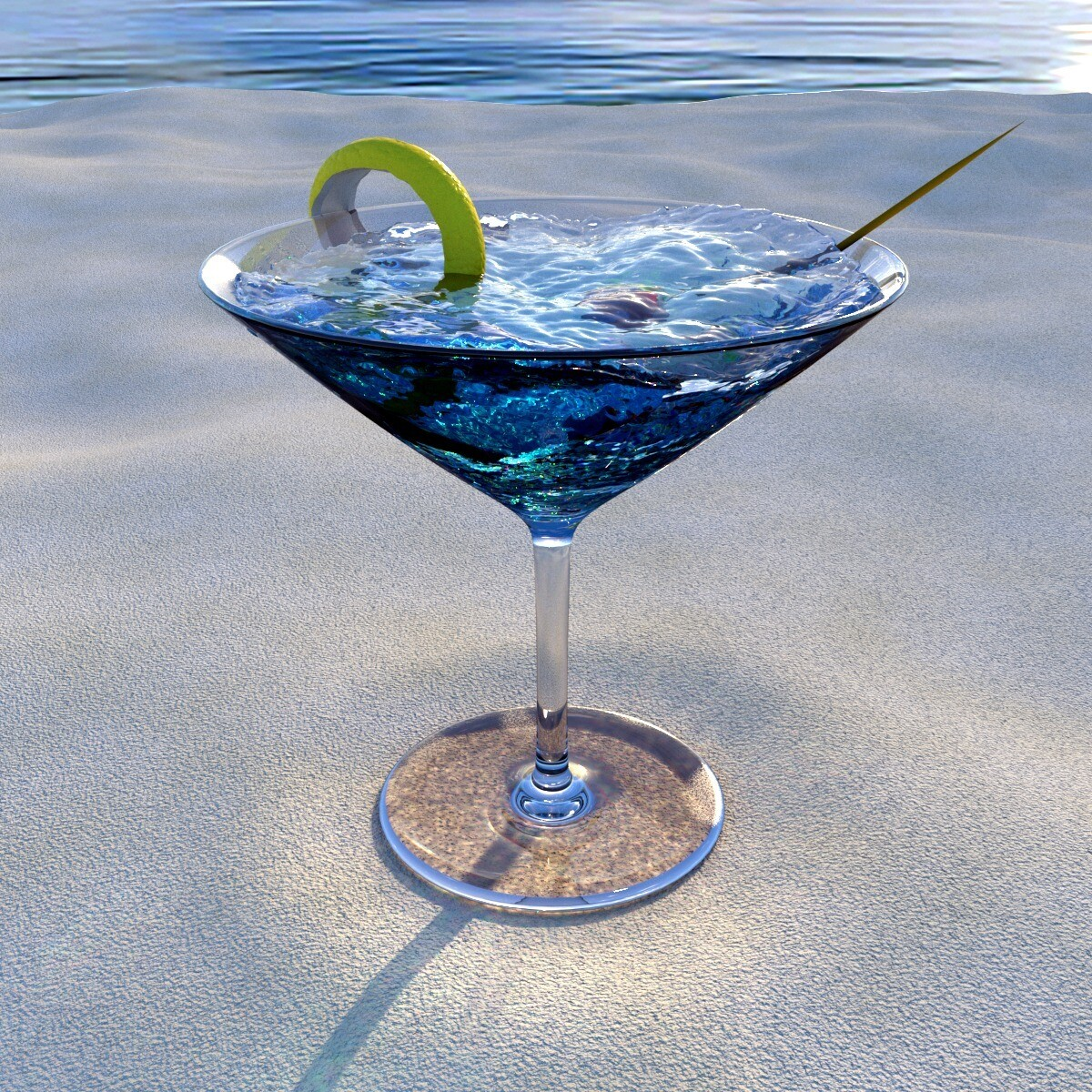 Gin Clear Sea