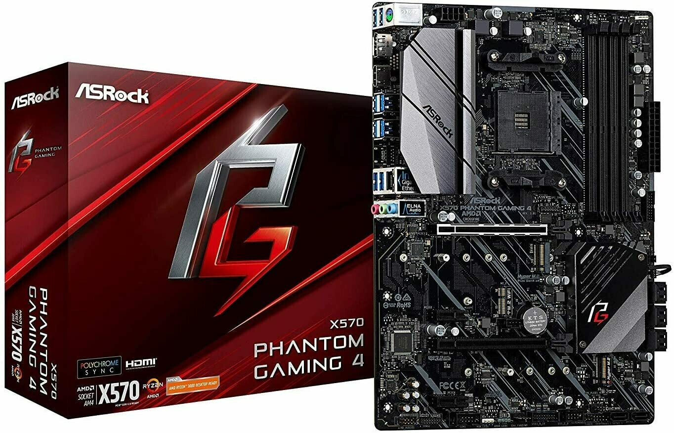 ASRock X570 Phantom Gaming 4 (Big Sur Tested-Using an RX 5000 Series Graphics Card only)