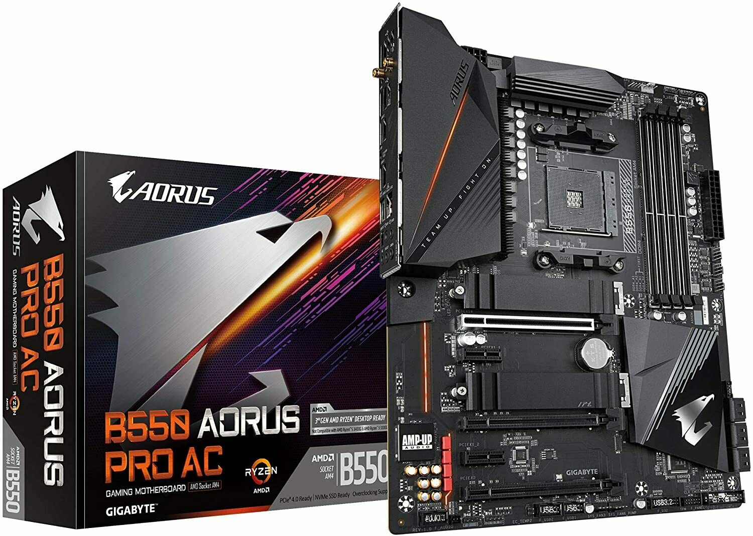 GIGABYTE B550 AORUS PRO AC (Using an RX 5000 Series Graphics Cards)