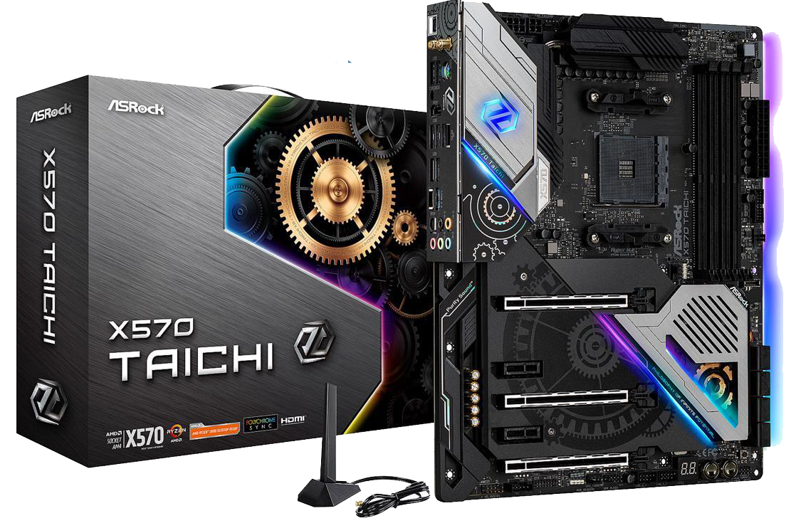 ASRock X570 TAICHI (Using an RX 5000 Series Graphics Cards)