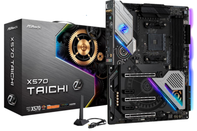 ASRock X570 TAICHI Working on Big Sur Tested & Catalina (Using an RX 570, RX 580, Vega 56 or 64 only)