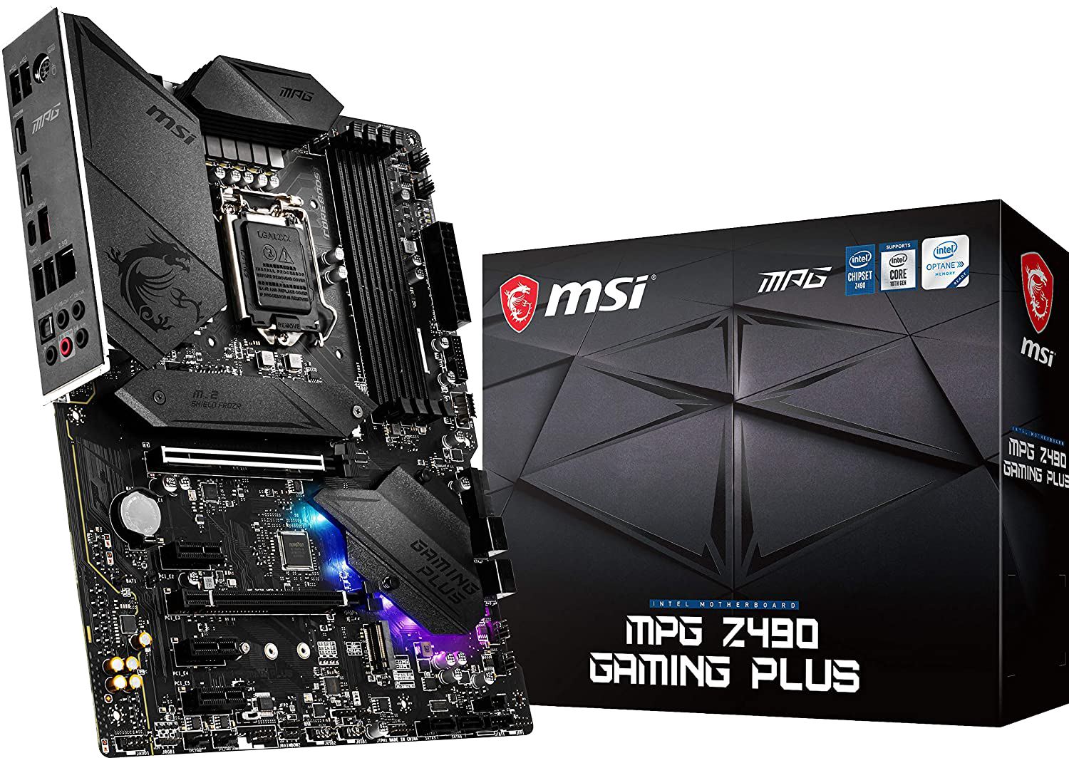 MSI MPG Z490 Gaming Plus (Using an RX 5000 Series Graphics Card only)