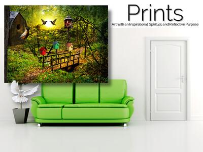Birds of Play Prints
