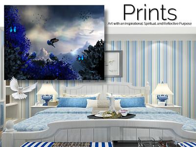 Bluebird of Happiness Prints