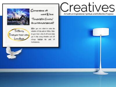 Cornerstone of Word & Love Creatives