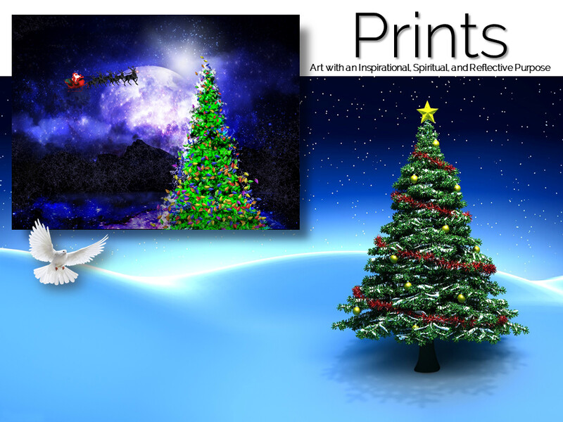 By The Light of Christmas Prints