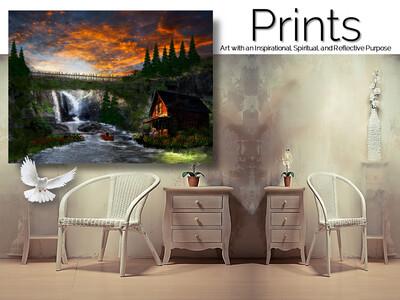 Bridge of Falls Memories Prints