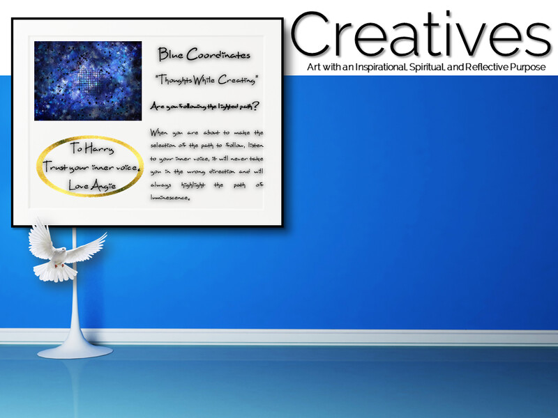 Blue Coordinates Creatives