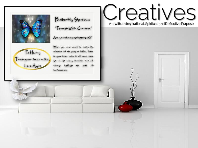 Butterfly Shadows Creatives