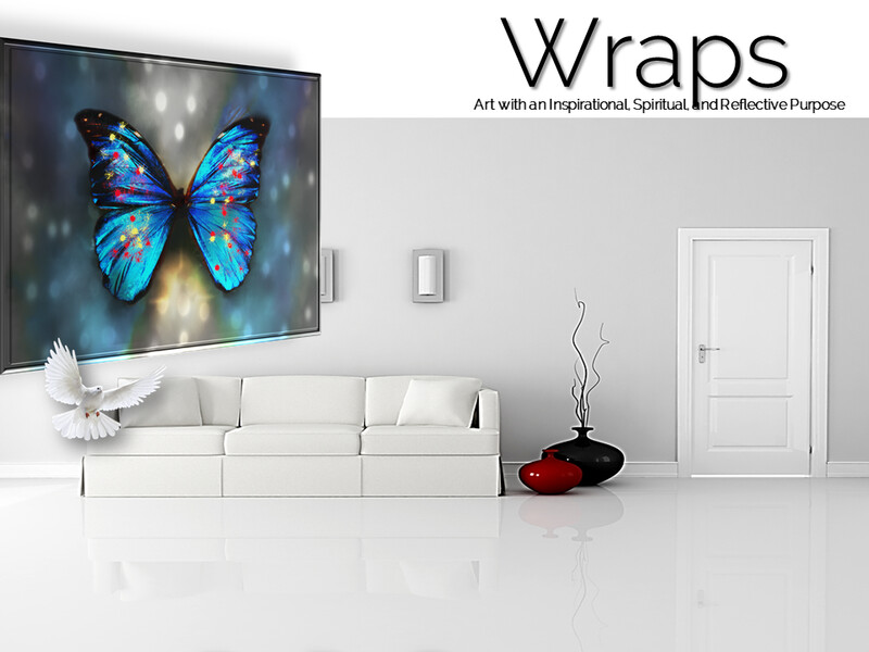 Butterfly Shadows Wraps