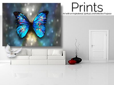 Butterfly Shadows Prints