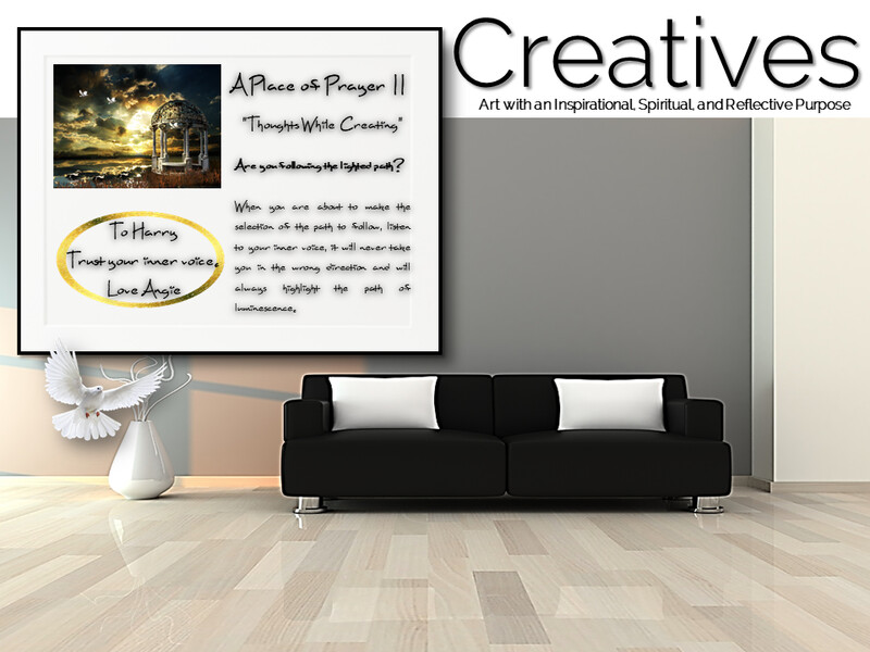 A Place of Prayer II Creatives