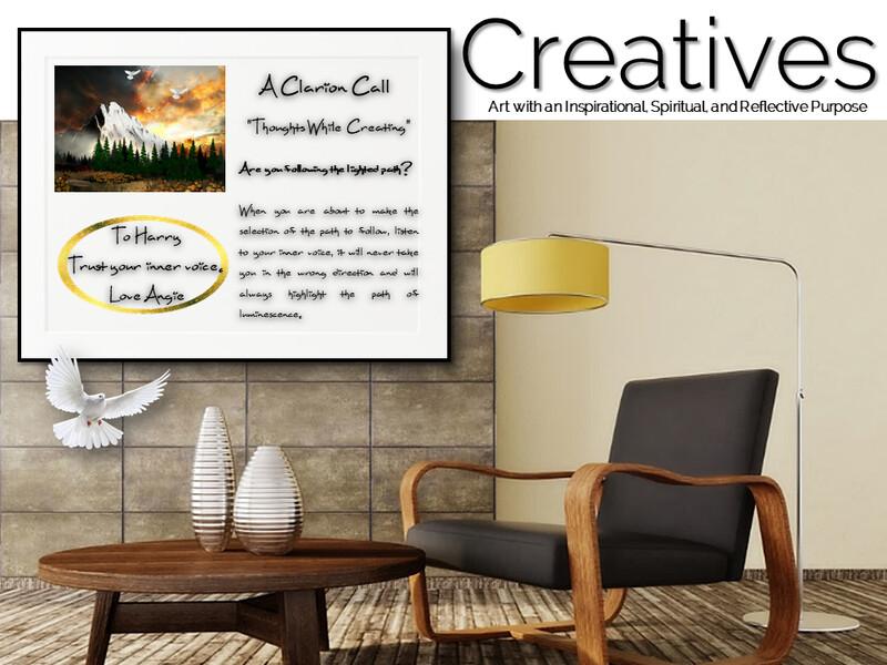 A Clarion Call Creatives