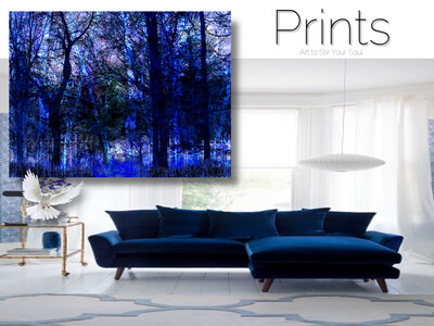 Blue Thicket Prints