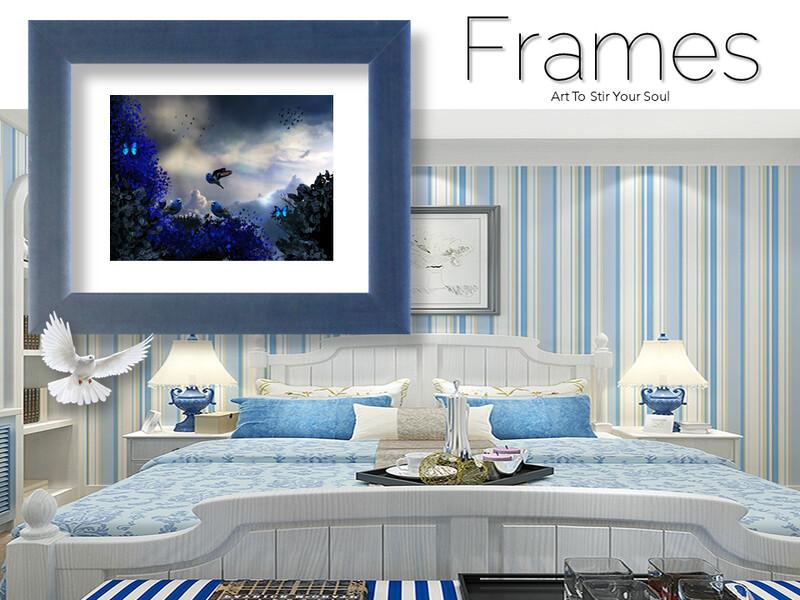 Bluebird of Happiness Frames
