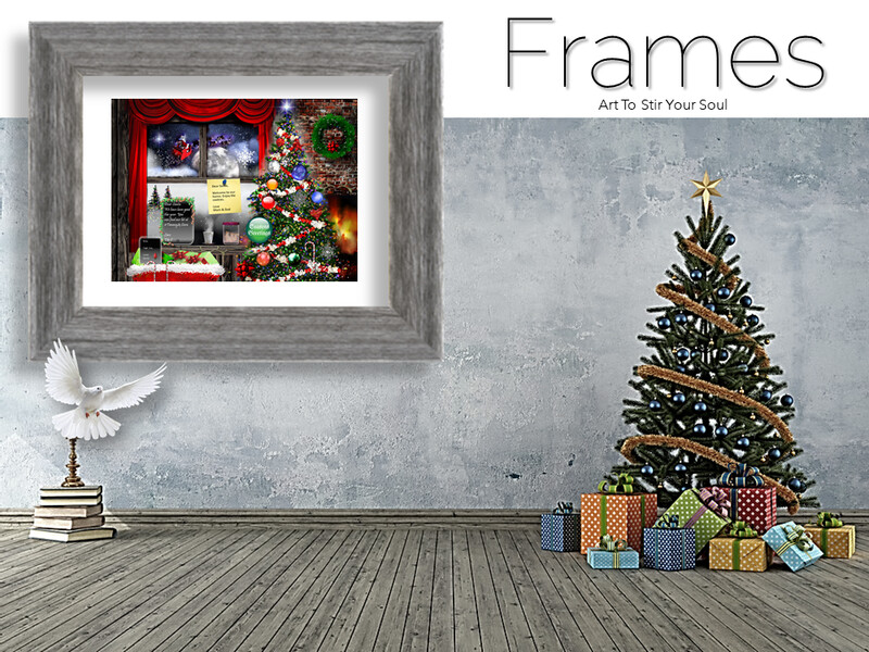 Christmas Notes Frames