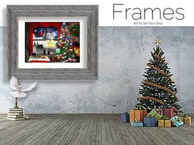 Christmas Notes Frames