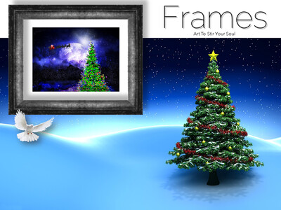 By The Light of Christmas Frames
