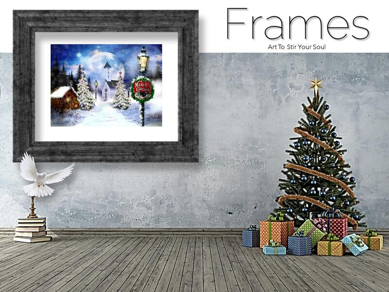 Christmas Peace Frames