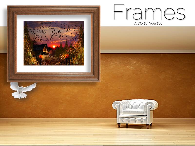 All Hallows Eve Frames