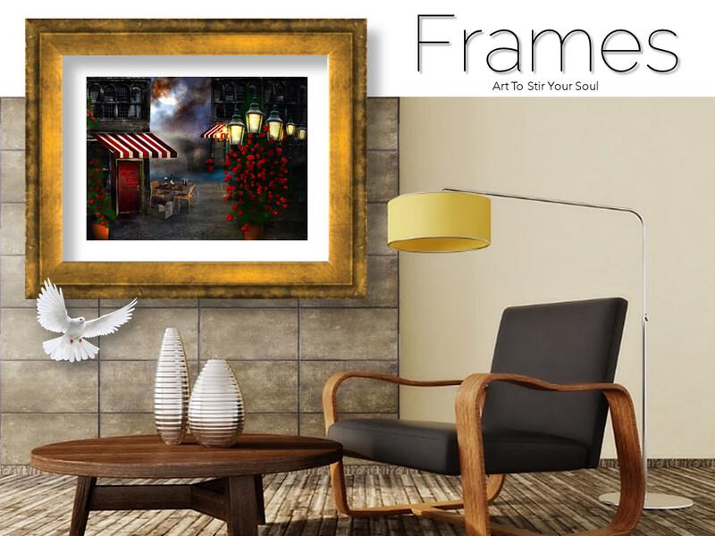 Cafe della Rosa Frames