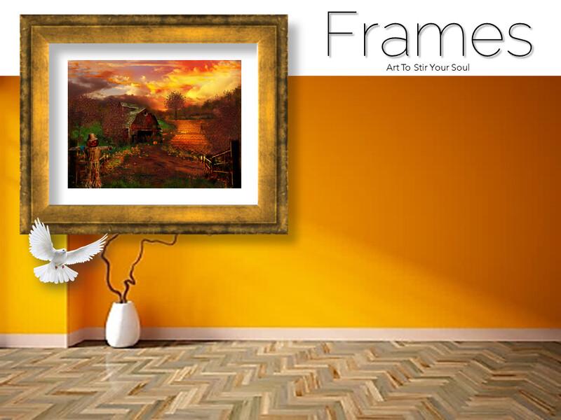 387 1/2 Pumpkins Frames