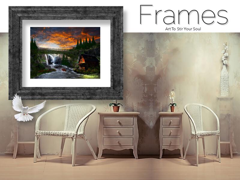 Bridge of Falls Memories Frames